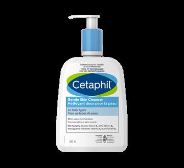 Image 1 du produit Cetaphil - Nettoyant doux pour la peau, 500 ml, sans parfum
