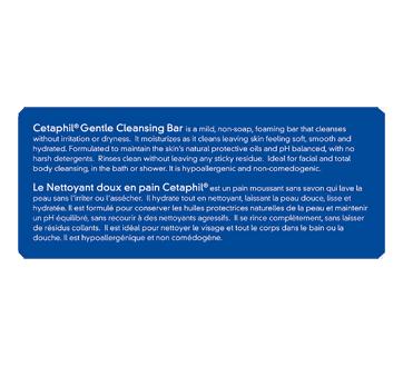 Image 3 du produit Cetaphil - Nettoyant doux en pain, 127 g, sans parfum