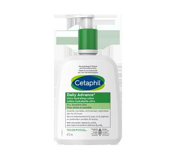 Image du produit Cetaphil - DailyAdvance lotion hydratante ultra avec beurre de karité, 473 ml