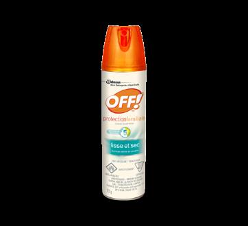 Protection familiale chasse-moustiques lisse et sec, 113 g
