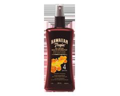 Image du produit Hawaiian Tropic - Huile pour bronzage foncé en vaporisateur – FPS 4 , 240 ml