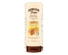 Image du produit Hawaiian Tropic - Lotion écran solaire toucher soyeux ultra-radieux à FPS 15, 240 ml