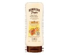Image du produit Hawaiian Tropic - Lotion écran solaire toucher soyeux ultra-radieux à FPS 30, 240 ml