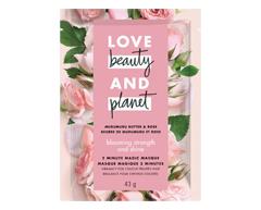 Image du produit Love Beauty and Planet - Blooming Strength and Shine traitement masque pour cheveux, 44 ml, Beurre de Murumuru et rose