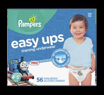 Easy Ups sous-vêtements d'entraînement, 56 unités, taille6, 4T-5T