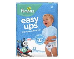 Image du produit Pampers - Easy Ups sous-vêtements d'entraînement pour garçons, 22 unités, taille 5 3T-4T