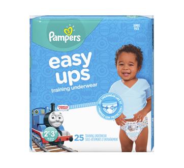Easy Ups sous-vêtements d'entraînement pour garçons, 25 unités, taille4, 2T-3T