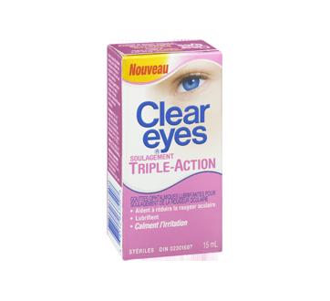 Image 2 du produit Clear Eyes - Clear Eyes triple action, 15 ml