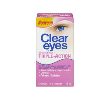 Image 3 du produit Clear Eyes - Clear Eyes triple action, 15 ml