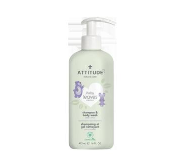 Baby Leaves 2 en 1 shampoing et gel nettoyant, 473 ml, douce pomme