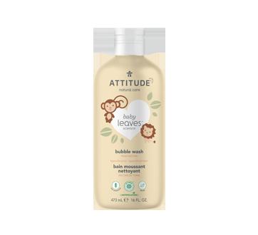 Baby Leaves bain moussant nettoyant naturel, 473 ml, nectar de poire