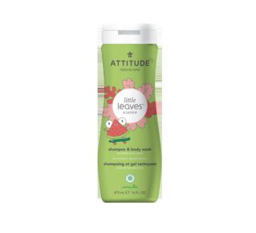 Shampoing et gel nettoyant 2-en-1, 473 ml, coco et melon d'eau