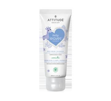 Baby Leaves crème naturelle pour le corps, 200 ml, Lait d'amande