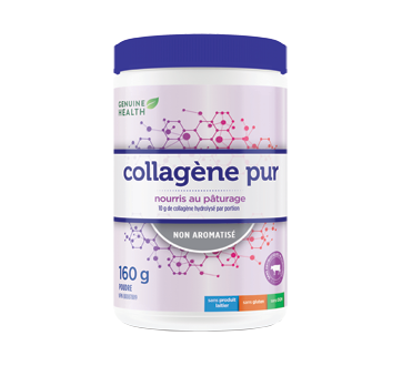 Image du produit Genuine Health - Collagène pur, non aromatisé, 160 g