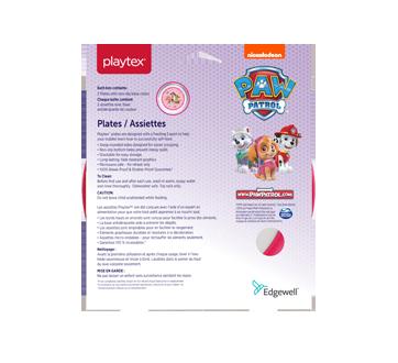 Image 2 du produit Playtex Baby - Pat Patrouille assiettes, rose, 2 unités