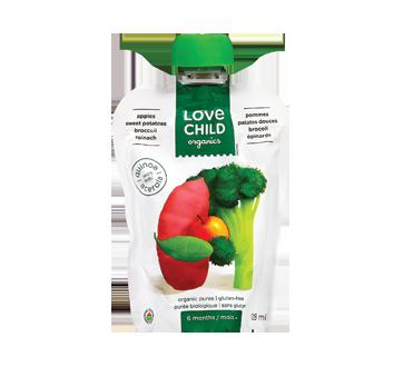 Purée biologique avec quinoa, 128 ml