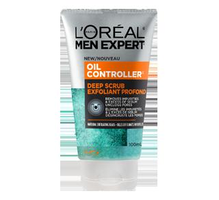 Men Expert Nettoyant exfoliant pour le visage pour hommes, 100 ml