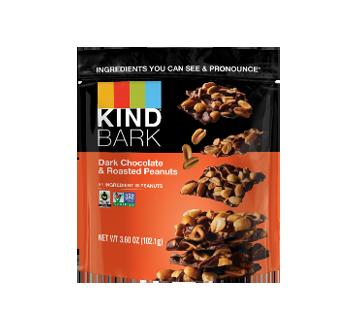 Chocolat noir et arachides roties
