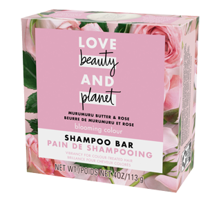 Blooming Colour pain de shampooing, 113 g, beurre de murumuru et rose