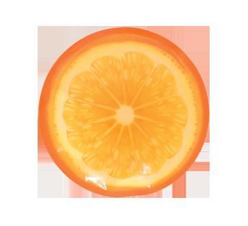 Bloc réfrigérant, 1 unité, orange