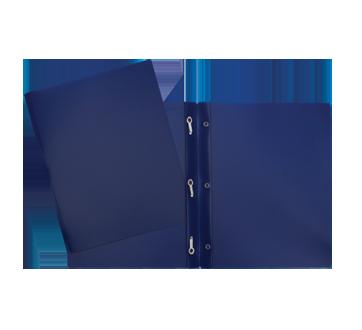 Portfolio plastique, 1 unité, bleu marin