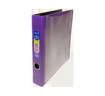 Cartable 1 pouce, 1 unité, violet