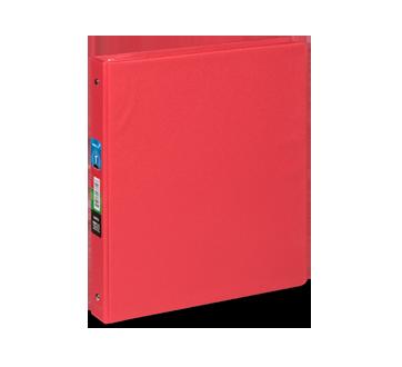 Cartable 1 pouce, 1 unité, rouge