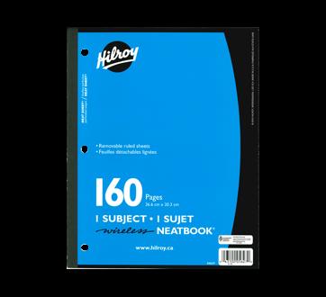 Neatbook cahier 160 pages, 1 unité, bleu