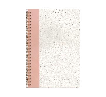 Journal en poly à reliure spirale 160 pages, 1 unité