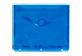 Vignette du produit Geo - Enveloppe de plastique transparente 3 trous, 1 unité, bleu