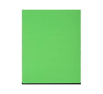 Portfolio en carton avec pochettes, 1 unité, vert