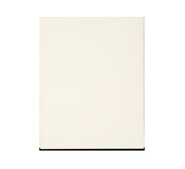 Portfolio en carton avec pochettes, 1 unité, blanc
