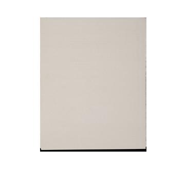 Portfolio en carton avec pochettes, 1 unité, gris
