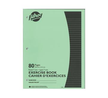 Cahiers d'exercices brochés, 1 unité, vert