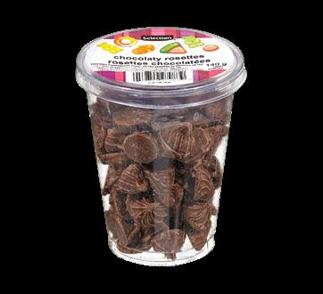 Rosettes chocolatées, 140 g