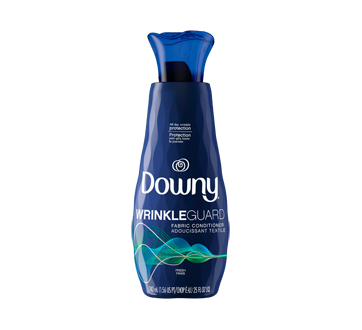 Assouplissant et adoucissant textile liquide WrinkleGuard, 740 ml, frais