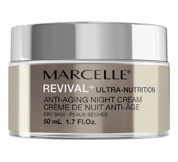 Revival+ Ultra-Nutrition Crème de nuit anti-âge, 50 ml