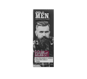 Huile pour barbe et cheveux, 30 ml