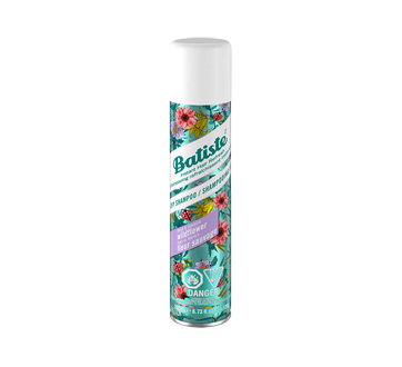 Shampooing sec, 200 ml, fleur sauvage