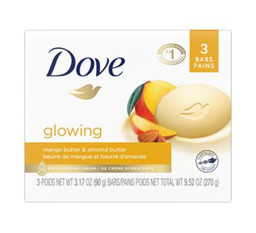 Pain de beauté beurre de mangue & d'amande, 3 unités