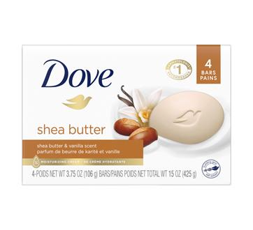 Pur Bien-être pain de beauté  beurre de karité & vanille chaude, 4 unités
