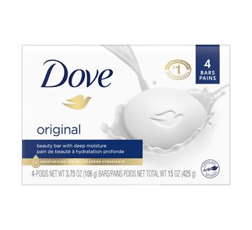 Pain de beauté blanc, 4 unités