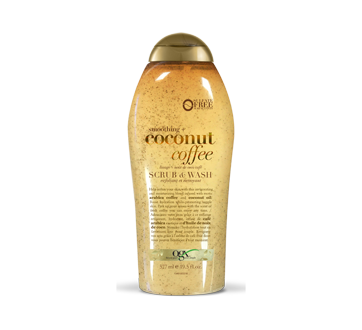 Exfoliant et nettoyant lissage + noix de coco café, 577 ml