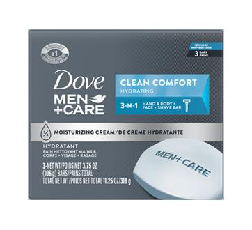 Pain nettoyant corps + visage, 318 g, confort propre