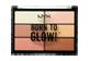 Vignette du produit NYX Professional Makeup - Born to Glow palette illuminante, 1 unité