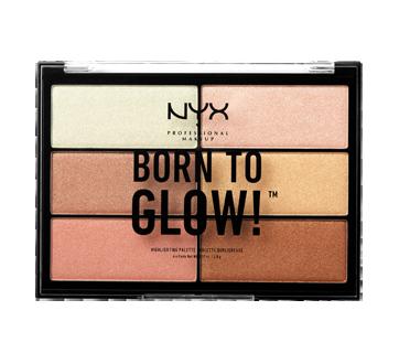 Born to Glow palette illuminante, 1 unité