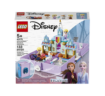 Les aventures d'Anna et Elsa dans un livre de contes, 1 unité