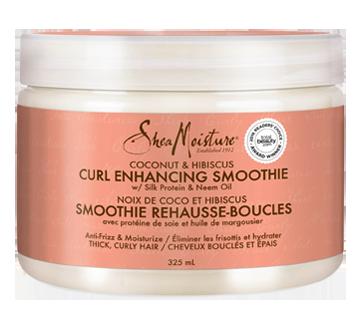 Smoothie rehausse-boucles noix de coco et hibiscus, 325 ml