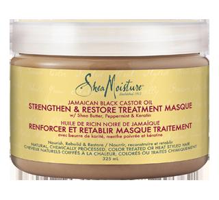 Masque traitement renforcer et rétablir huile de ricin noir de Jamaïque, 325 ml
