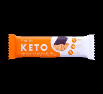Image du produit ProtiLife - barre Keto à saveur chocolat et beurre d'arachide, 40 g